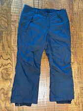 COLUMBİA Women's SKI Pants 1X Black Waterproof