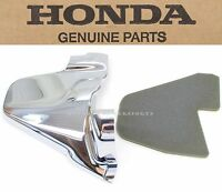 New Genuine Honda Left Side Engine Cover & Mat 01-10 GL1800 Oil Filler #Y112