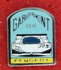 RARE PIN'S 905 PEUGEOT 24 HEURES DU MANS GARAGE DUMONT