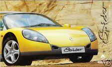 Renault Sport Spider 2.0 16v 1996-97 UK Market Smaller Format Foldout Brochure