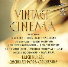 Vintage Cinema [SACD] by Erich Kun el/Cincinnati Pops Orch.