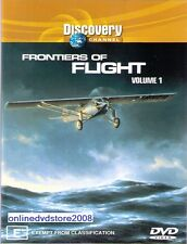 FRONTIERS OF FLIGHT Vol.1 - Discovery Channel - PLANES Doco DVD NEW SEALED Reg 4