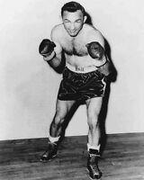 1950s American Boxer CARMEN BASILIO Vintage 8x10 Boxing Photo Print Champion!