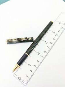 Dark green marble tone Burberrys Rollerball pen - needs Pentel refill