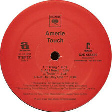 "NOS Amerie Touch Double LP Columbia PROMO 2 X 12"" R&B Soul Vinyl Record Album"