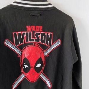 XL Junior Denim Jacket Deadpool Jacket T-Shirt Jacket Marvel Comics Jacket