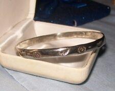 Vintage Sterling Silver bangle bracelet ~ 925 Mexico