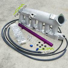 R32, R33, R34 Horizonte Gts Rojo//Cromo 300ZX Z32 Filtro de aire MAF Adaptador /&