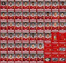 Británico e irlandés Leones Tour de Australia 2013 Rugby Trading Cards