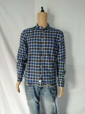 Frank & Eileen Luke Checked Flannel Button Down Small