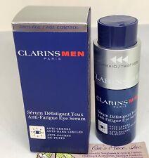 CLARINS MEN PARIS ANTI-FATIGUE EYE SERUM 1oz ANTI-DARK CIRCLES/DE-PUFFS NEW BOX