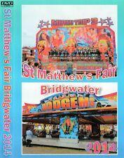 NEW FAIRGROUND DVD BRIDGWATER ST MATTHEW'S FAIR 2014 SHOWMANS FUNFAIR RIDES