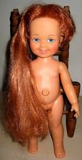 CRISSY FAMILY VINTAGE CINNAMON DOLL WITH GROW HAIR..SO CUTE!