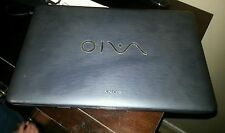 SONY VAIO VGN-NW350F INTEL Core 2 Duo 2.2G PARTS REPAIR NOTEBOOK Crack Screen