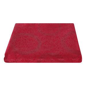 Tessuto Cerchi Bordeaux Raso Taglio 280x280 cm per Cuscini Tovaglie Arredo Casa