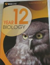 Biozone Year 12 Biology Student Workbook 2013
