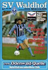 BL 87/88 SV Waldhof Mannheim - Eintracht Frankfurt, 23.03.1988