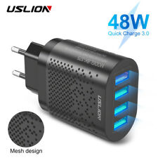 48W 4 Port 3A Quik Charge 3.0 Mobile Phone USB Fast Wall Charger