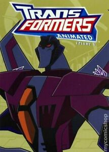 Transformers Animated TPB #4-1ST NM 2008 Stock Image