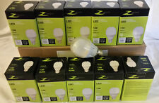 Sale 10 bulb LED 60W A19 Dimmable Bright White (6500K) Zenaro BRIGHT