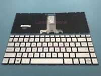NEW For HP Pavilion X360 14-BA 14T-BA 14M-BA 14-BS Spanish Keyboard Silver