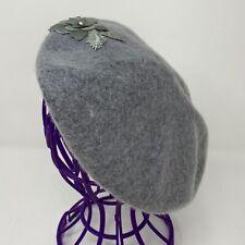 Color : Dark Coffee, Size : 56-58CM MXL Beret Cap Autumn Winter Wool Ladies Cotton Octagonal Hat Mens Monochrome Outdoor Shade Fashion Classic Retro Painter Hat