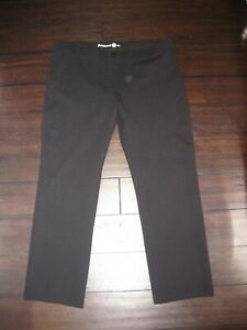 Women's Betabrand Dress Slacks Yoga Pants Black Size 2XL Petite Straight Leg