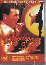 BLOODSPORT 3 - THE FIGHT CONTINUES - NEW REGION 4 DVD FREE LOCAL POST