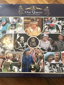 Gibsons 'Our Queen The Longest Reign' 1000 Piece Jigsaw Puzzle-New Sealed