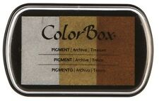 Color Box Pigment Ink Stamp Pad TREASURE 19030 Sealed! Brand New!!