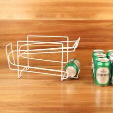 Beverage Soda Coke Can Dispenser Storage Rack Holder Refrigerator Organizer