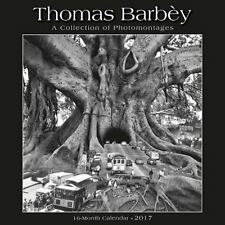 THOMAS BARBEY 2017 16 MONTH WALL CALENDAR 12 PICTURES NEW SHRINK WRAPPED