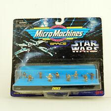 NEW Micro Machines Star Wars Ewoks 1998 Galoob Mini Figures Toys Return Jedi