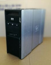 HP Z800 - 2 x Xeon Six Core X5650 2.66GHz 48GB 1TB FX580 Workstation Win 7 Pro