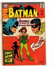 Batman # 181 VG- DC Comic Book Joker Robin Catwoman Batgirl Gotham Penguin JG2