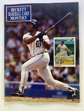 Cecil Field or Beckett baseball card monthly January 1991