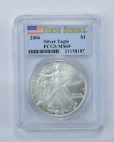 MS69 2006 American Silver Eagle - First Strike - Graded PCGS *449