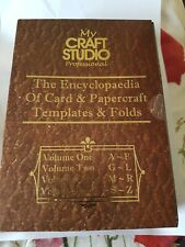 MY CRAFT STUDIO ENCYCLOPAEDIA OF CARD AND PAPERCRAFT TEMPLATES AND FOLDS