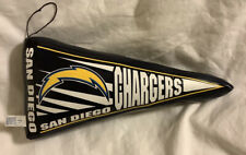 San Diego Chargers Puffy Plush Pillow Pendant Flag Shape ~ NFL