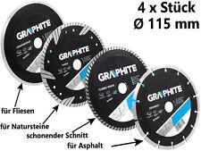 Diamant Scheibe Trennscheibe Ø 115 mm SATZ Flexscheibe Diamanttrennscheibe