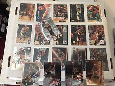 Reggie Miller 20 Card Lot Basketball Cards Indiana Pacers NM/M Condition Topps