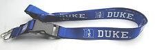 NCAA NWT KEYCHAIN LANYARD - DUKE BLUE DEVILS