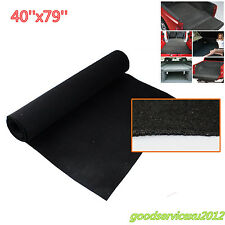 Black 40''*79'' Solution Dyed Polypropylene Car Off-Road Floor Carpet Mat Liner