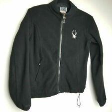 Spyder women S black recycled fleece full zipper casual outdoor Jacket