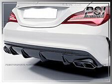 M-Benz W117 C117 CLA250 CLA45 AMG JPM Style Carbon Fiber Rear Bumper Diffuser CF