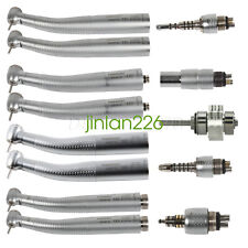 Dental Fiber Optic Turbine LED Handpiece F/KAVO NSK Sirona Quick Coupling CX207G