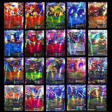 100 Stück  Pokemon Karten 20GX Karte + 80EX Karte Sammel karten Trading Geschenk