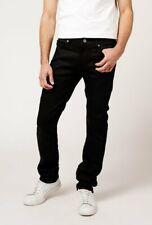 Mens Naked & Famous Skinny Guy Jeans Black 28/36.5  NWT Raw Denim Waist 26