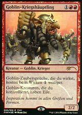 Goblin-Kriegshäuptling - Version 2 FOIL / Goblin Warchief | NM | FNM Promos |GER