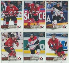 2017-18 Upper Deck Team Canada CANVAS YOU CHOOSE FINISH YOUR SET